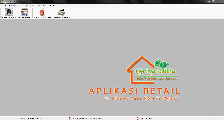 Aplikasi Retail Griya Talitha